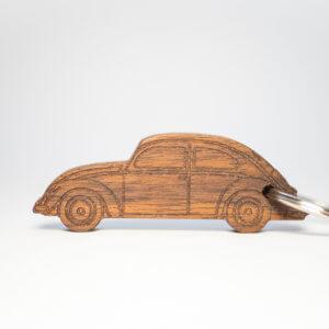 KeyCar VW Käfer in Nussbaum fotografier von Dominik Martin Photography