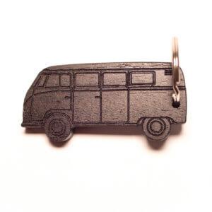 KeyCar Schlüsselanhänger VW T1 Transporter1 in Palisander fotografiert von Dominik Martin Photography